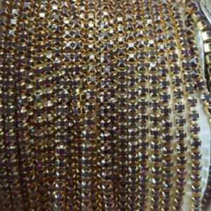 Violet stone chain