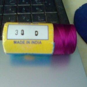 30 D silk thread pink