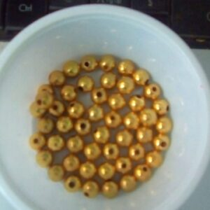 Metal beads 8mm