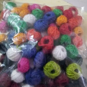 cotton thread beads