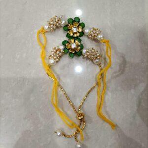 Chikoo flower pair rakhis