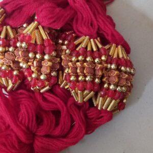 Red thread owl rakhi
