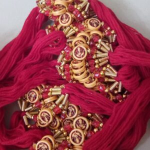 Red thread Ganesha rakhi