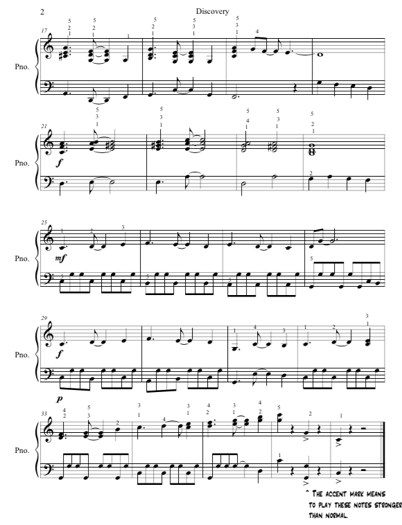 Paloma Piano - Discovery - Page 2