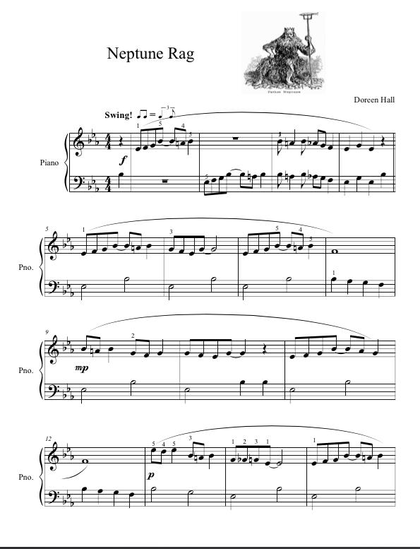 Paloma Piano - Neptune Rag - Page 1
