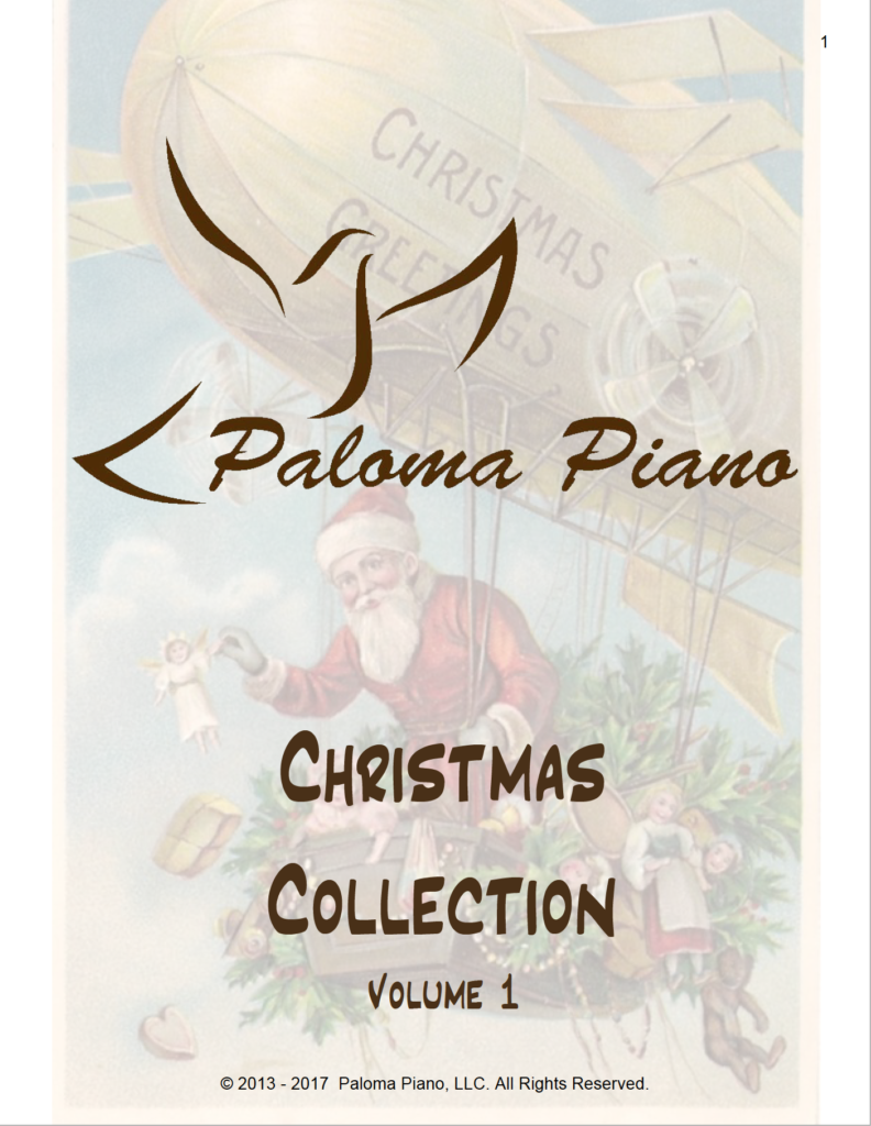 Paloma Piano - Christmas Collection - Volume 1 - Cover