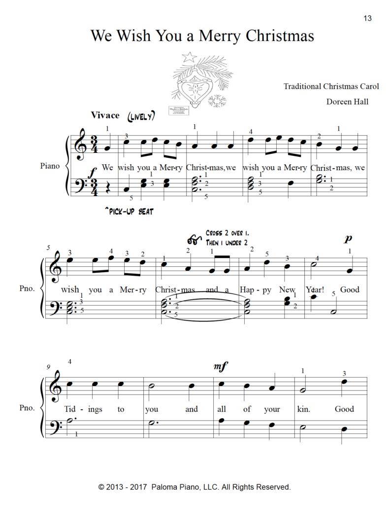 Paloma Piano - Christmas Collection - Volume 1 - Page 13