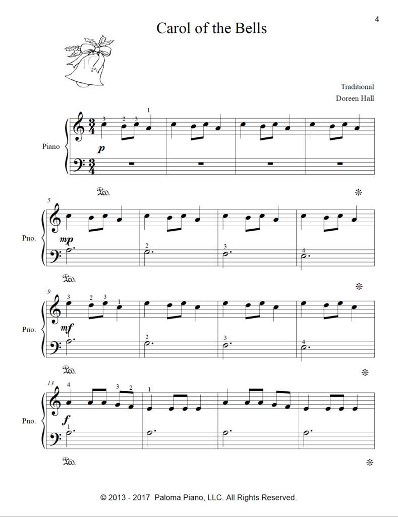 Paloma Piano - Christmas Collection - Volume 1 - Page 4