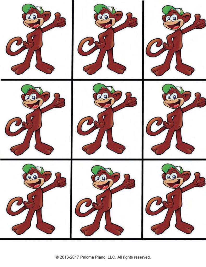 Paloma Piano - Monkey Matching Game - Page 2