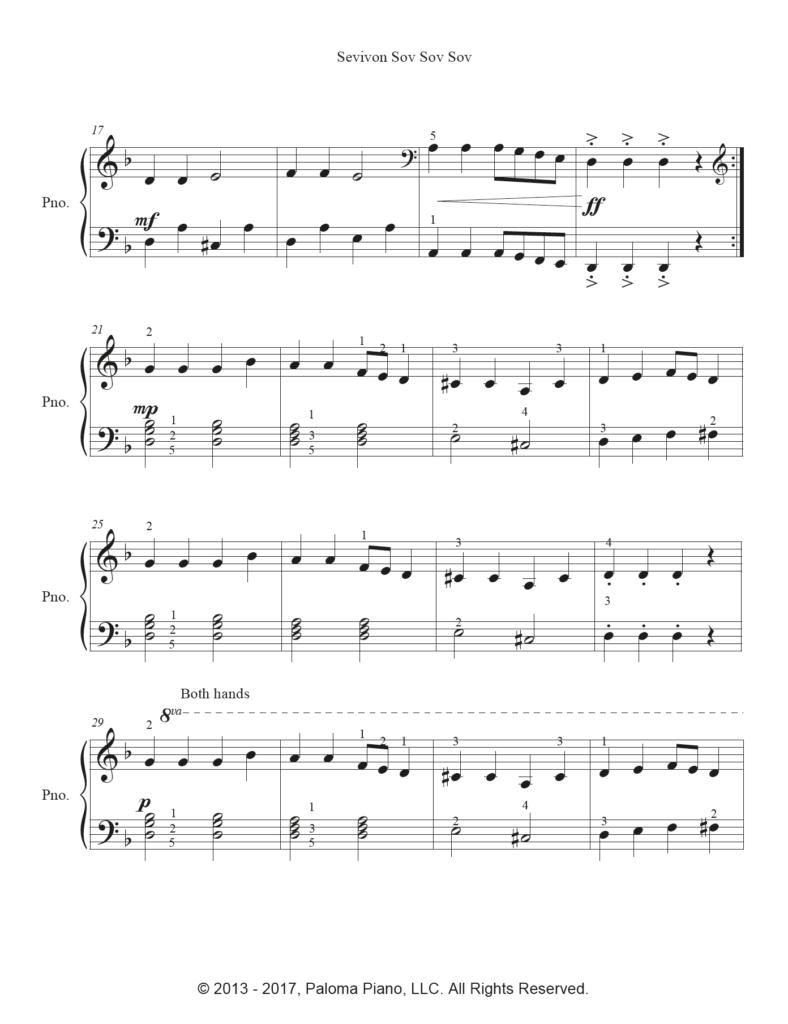 Paloma Piano - Sevivon - Page 2