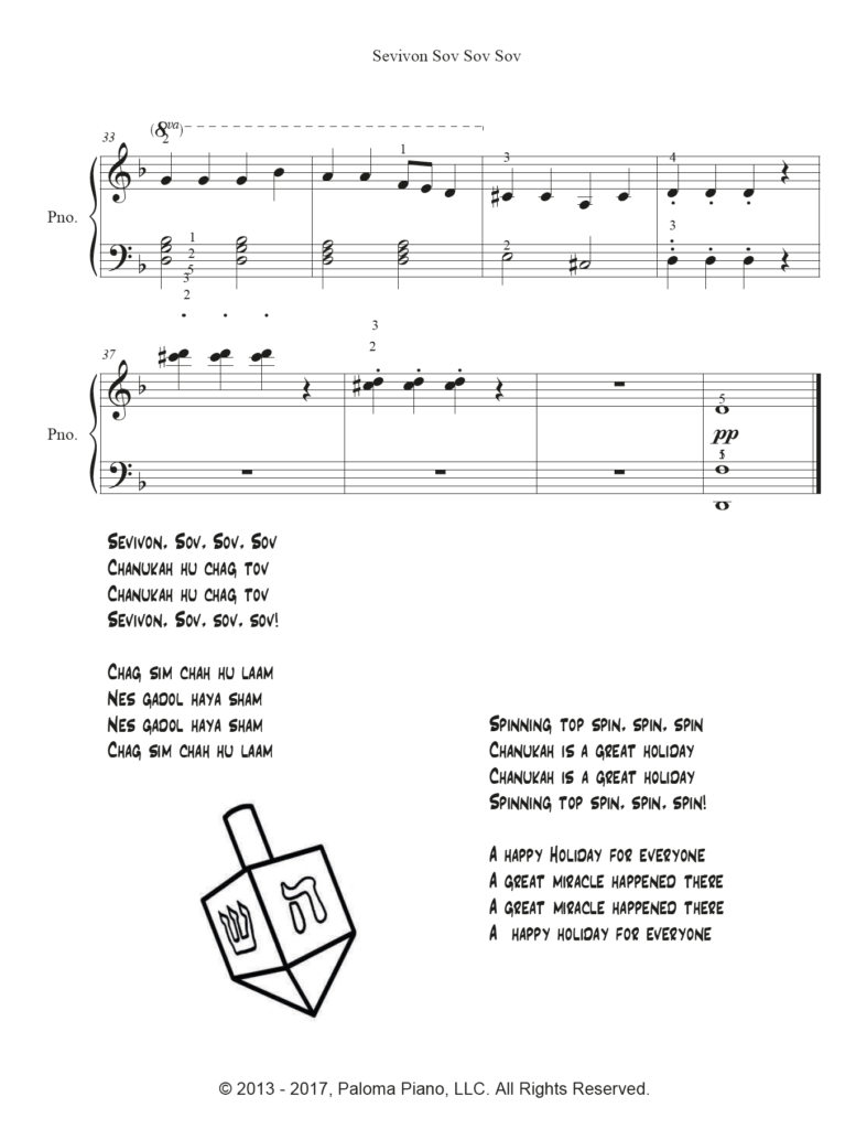 Paloma Piano - Sevivon - Page 3