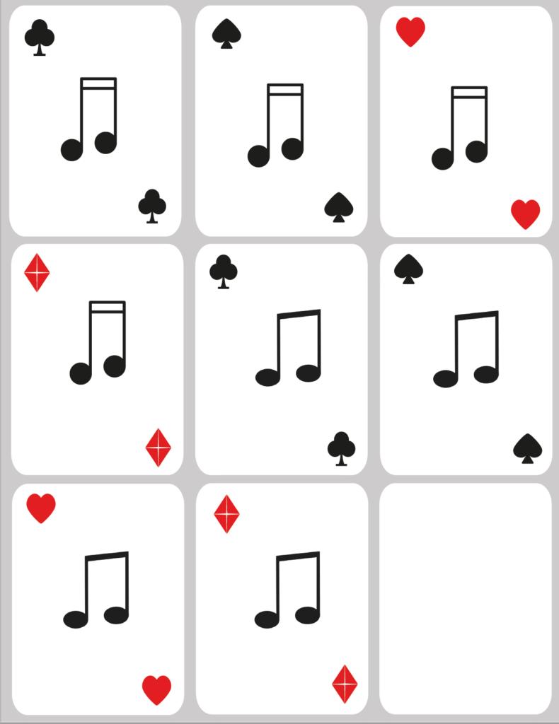 Paloma Piano - Rhythm Card Deck - Page 2