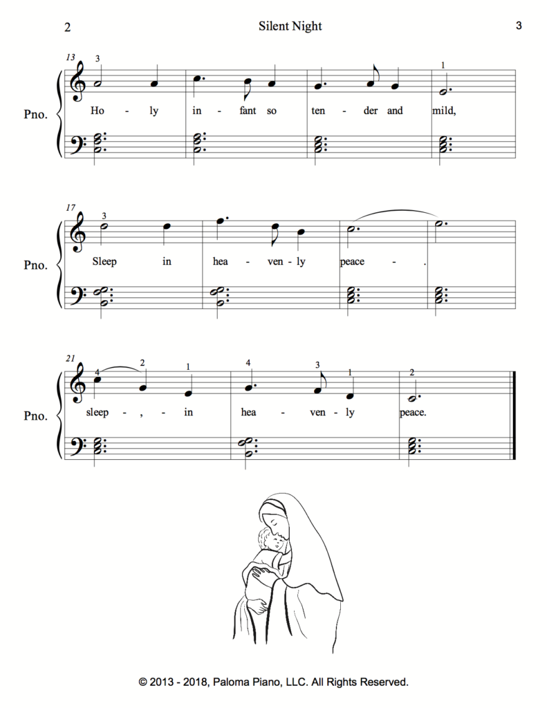 Paloma Piano - Silent Night - Page 3