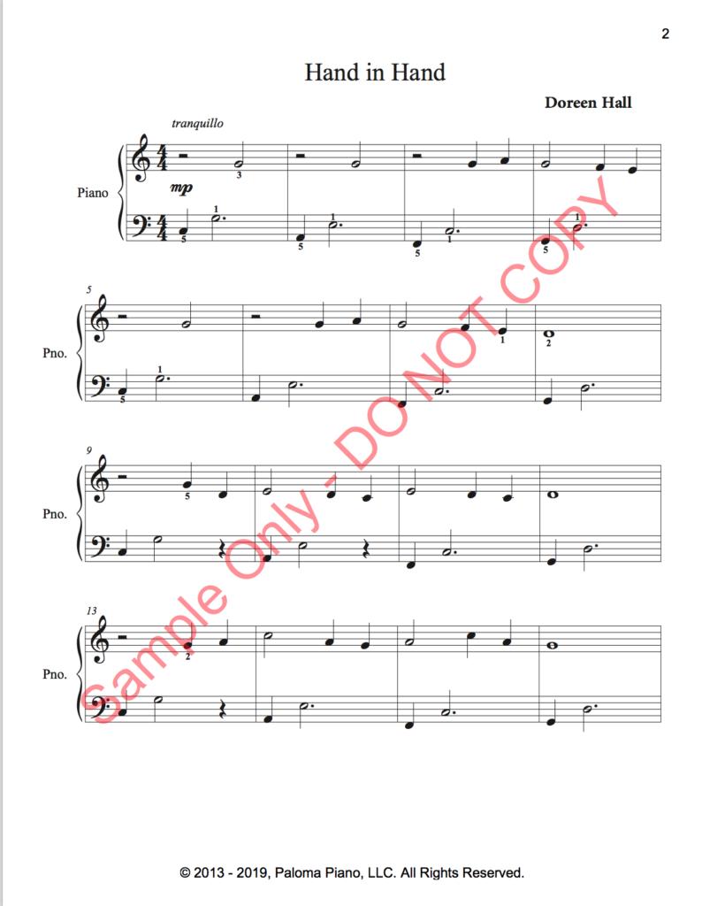 Paloma Piano - Three Easy Canons - Page 2