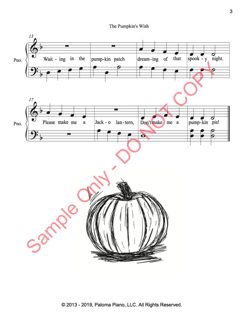 Paloma Piano - The Pumpkin's Wish - Page 2