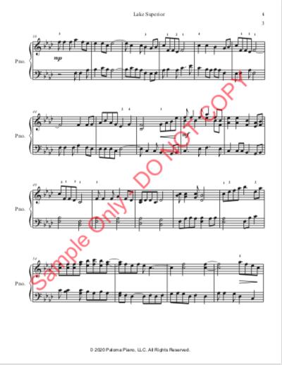 Paloma Piano - Lake Superior - Page 4