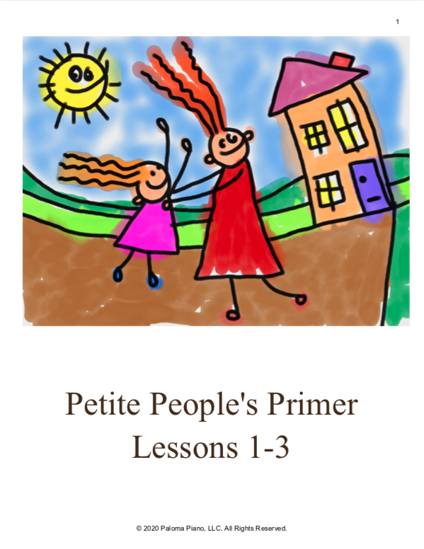 Paloma Piano - Petite People's Primer Lessons 1, 2 and 3 - Page 1
