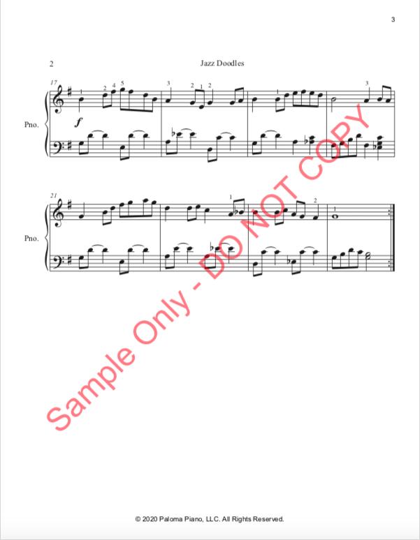Paloma Piano - Strolling Along - Page 3