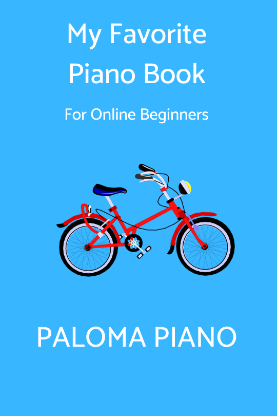 Paloma Piano - My Favorite Piano Book - Page 1