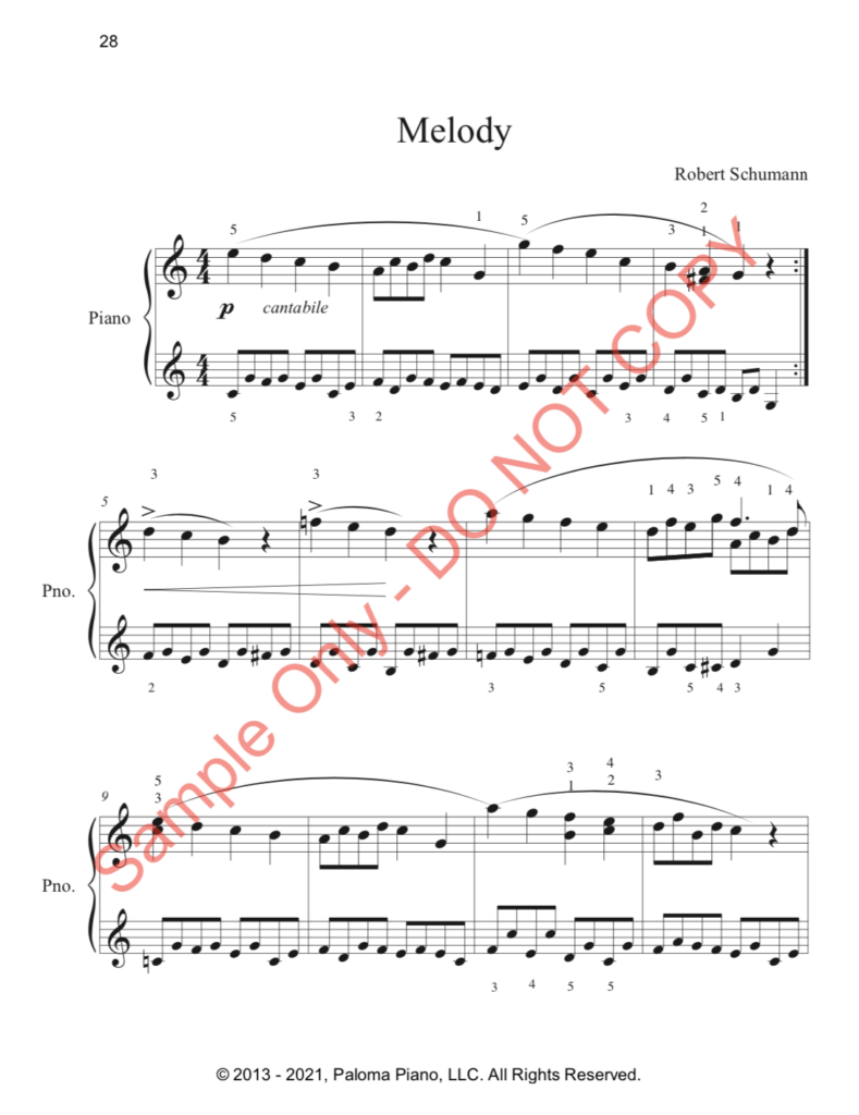 Paloma Piano - First Classics Collection - Page 28