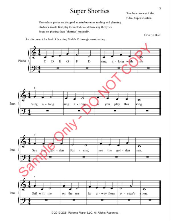 Paloma Piano - Super Shorties - Page 3