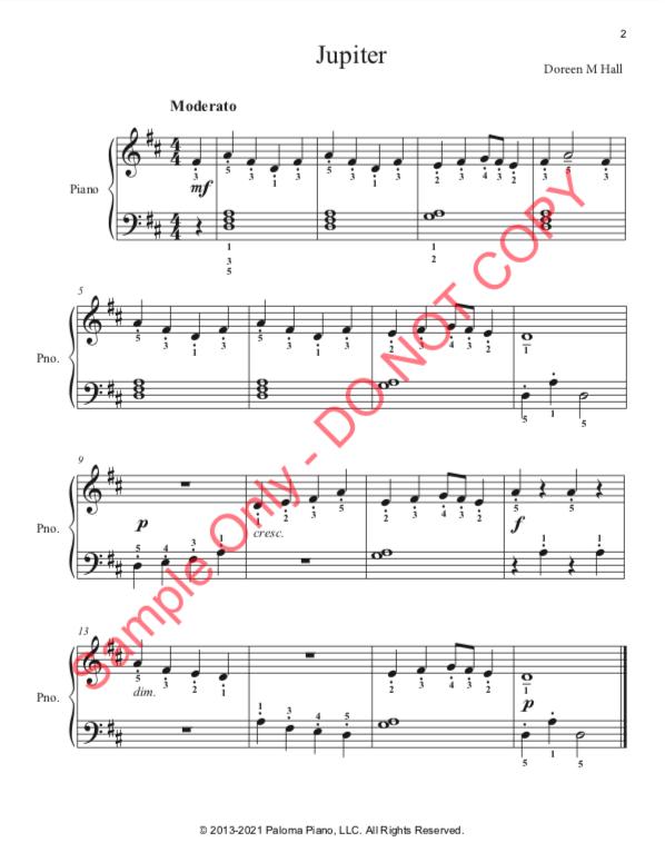 Paloma Piano - Jupiter - Page 2