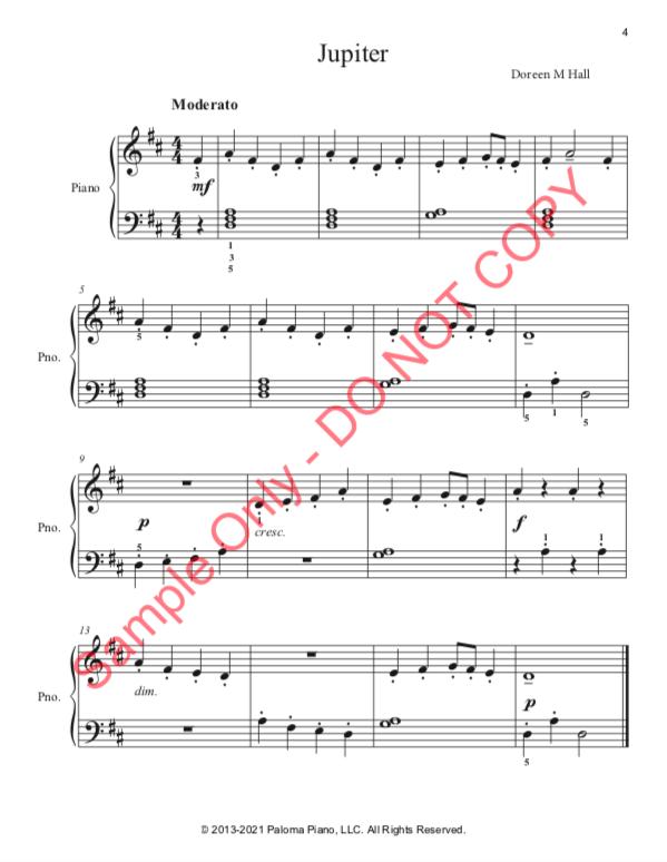 Paloma Piano - Jupiter - Page 4