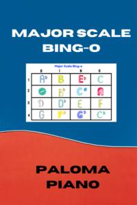 Major Scale Bingo