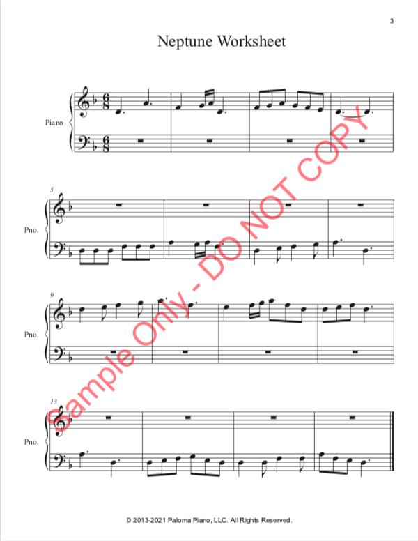 Paloma Piano - Neptune - Page 3