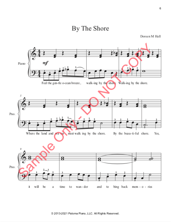 Paloma Piano - Three Pieces for the Left Hand - Page 6