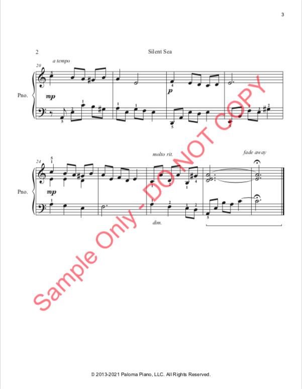 Paloma Piano - Silent Sea - Page 3