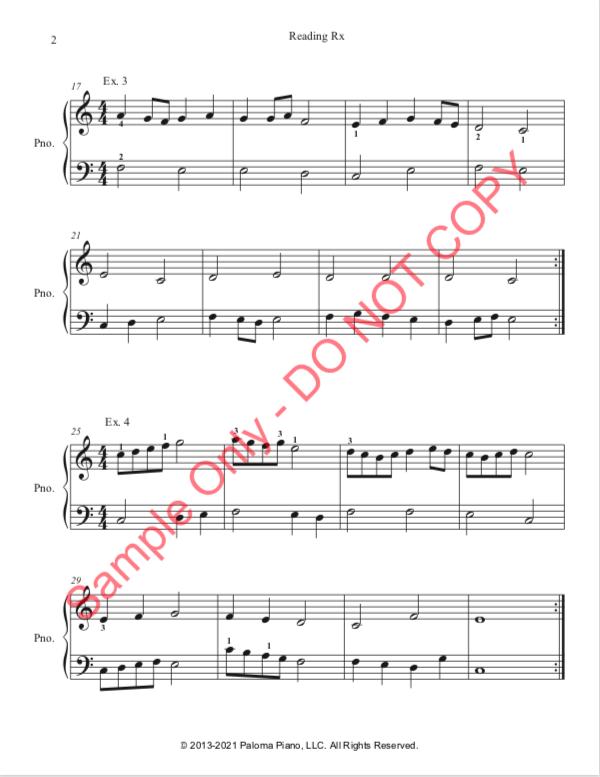 Paloma Piano - Reading Rx - Page 2