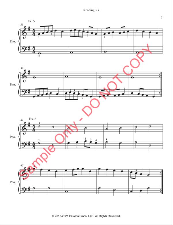 Paloma Piano - Reading Rx - Page 3