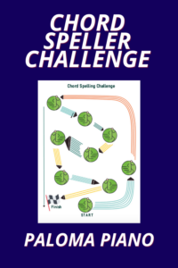 Paloma Piano - Chord Speller Challenge