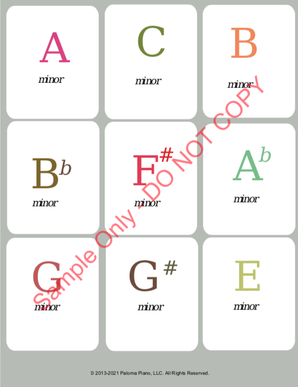 Paloma Piano - Chord Speller Challenge - Page 3