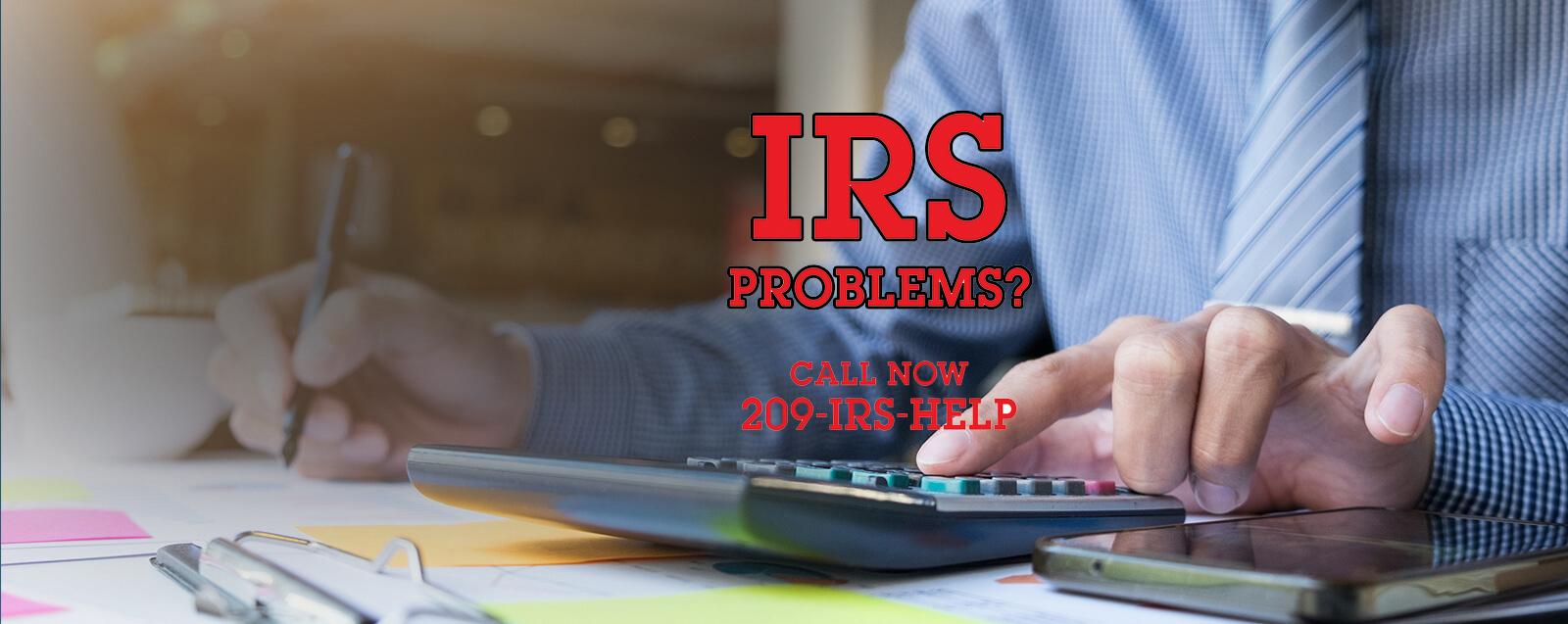 IRS proble s