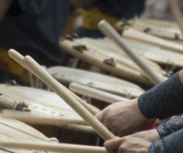 Japanese Taiko Drummers