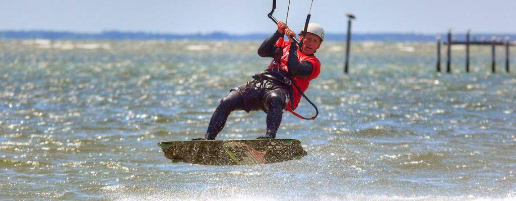 Kite Surfing in Mathews