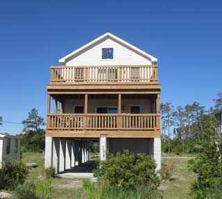 Tranquility beach house rental