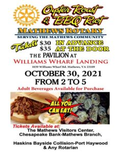 Rotary Oyster Roast & BBQ Riot