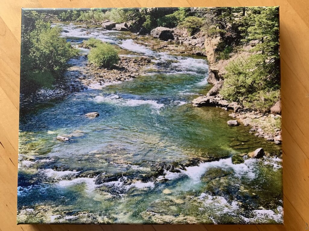 Yellowstone Canvas Print Best Mother's Day Git