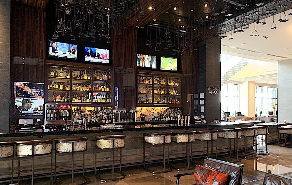 Whiskey Moon Bar at the Renaissance Dallas at Plano Legacy West Hotel