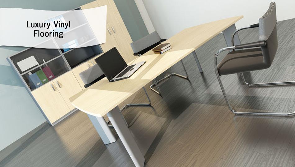 Luxury Vinyl Tile flooring for home or office