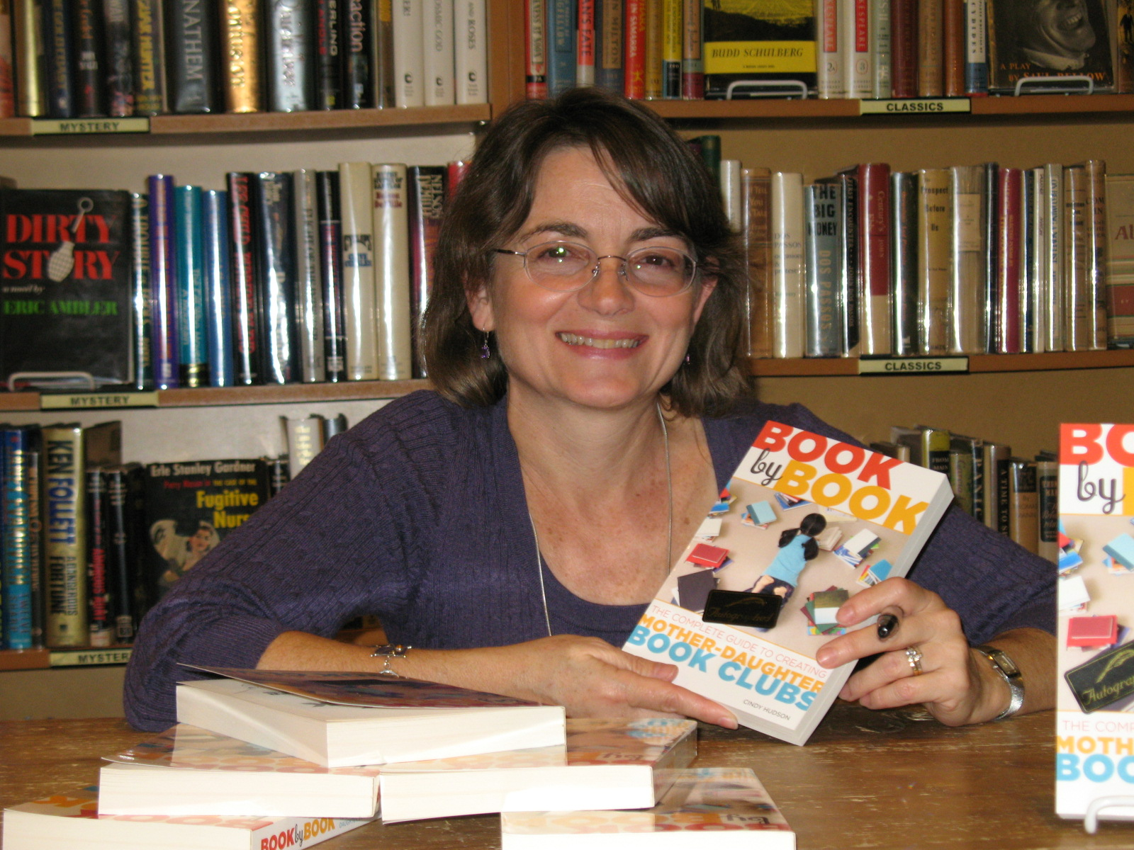 Cindy Hudson at Third Place Books 1 image