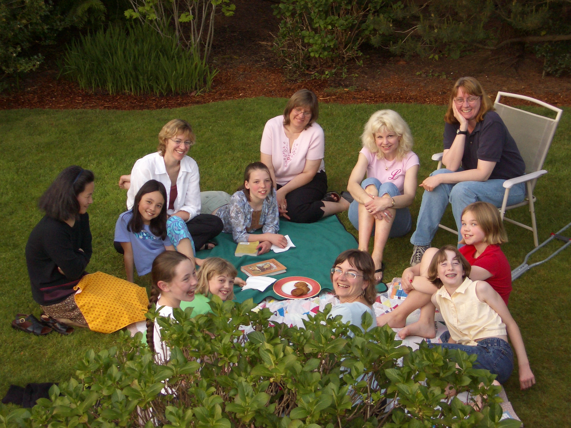 Book Club Meeting photo