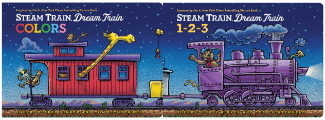 Steam Train, Dream Train 1-2-3 and Colors cover image
