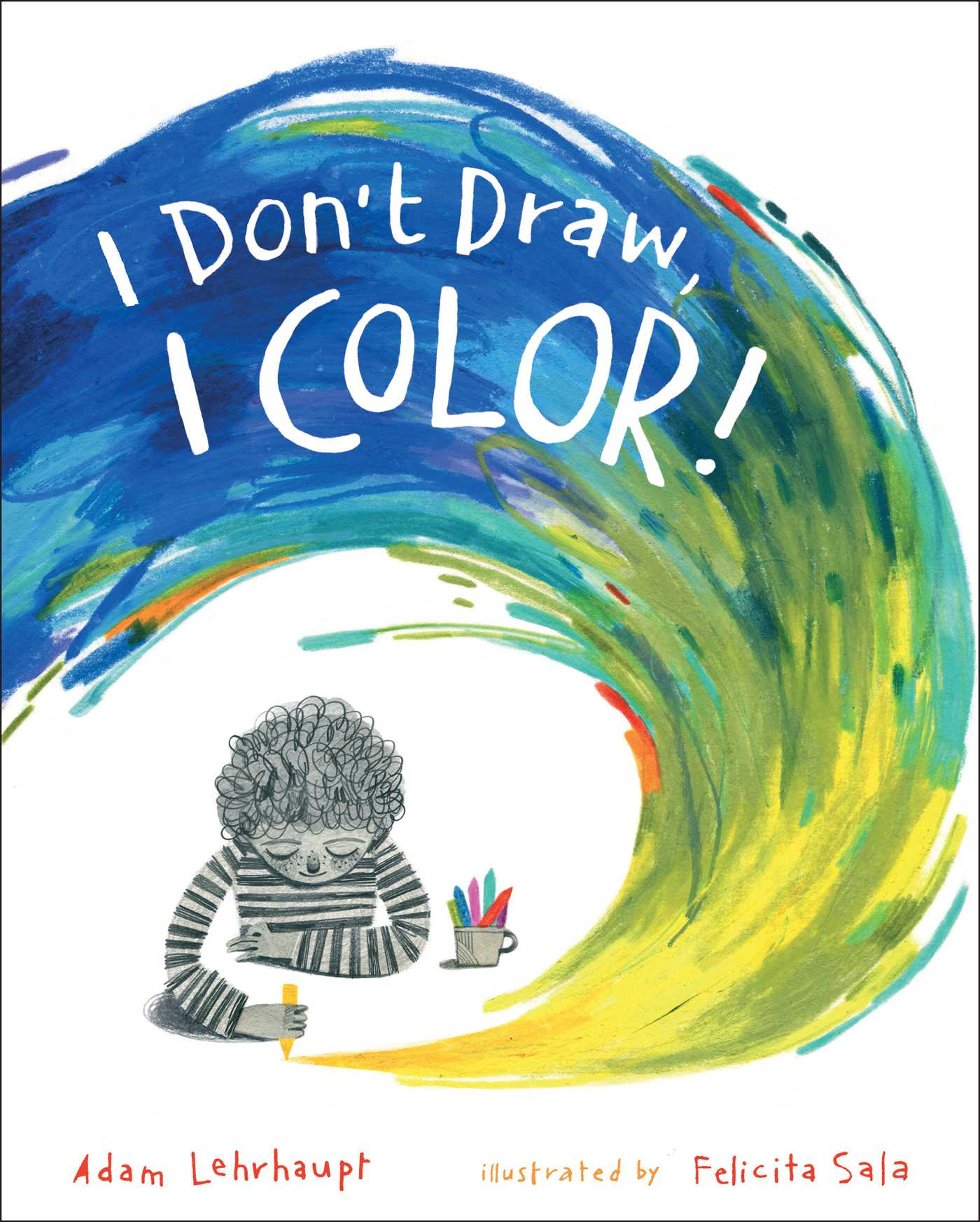 I Don't Draw I Color cover image