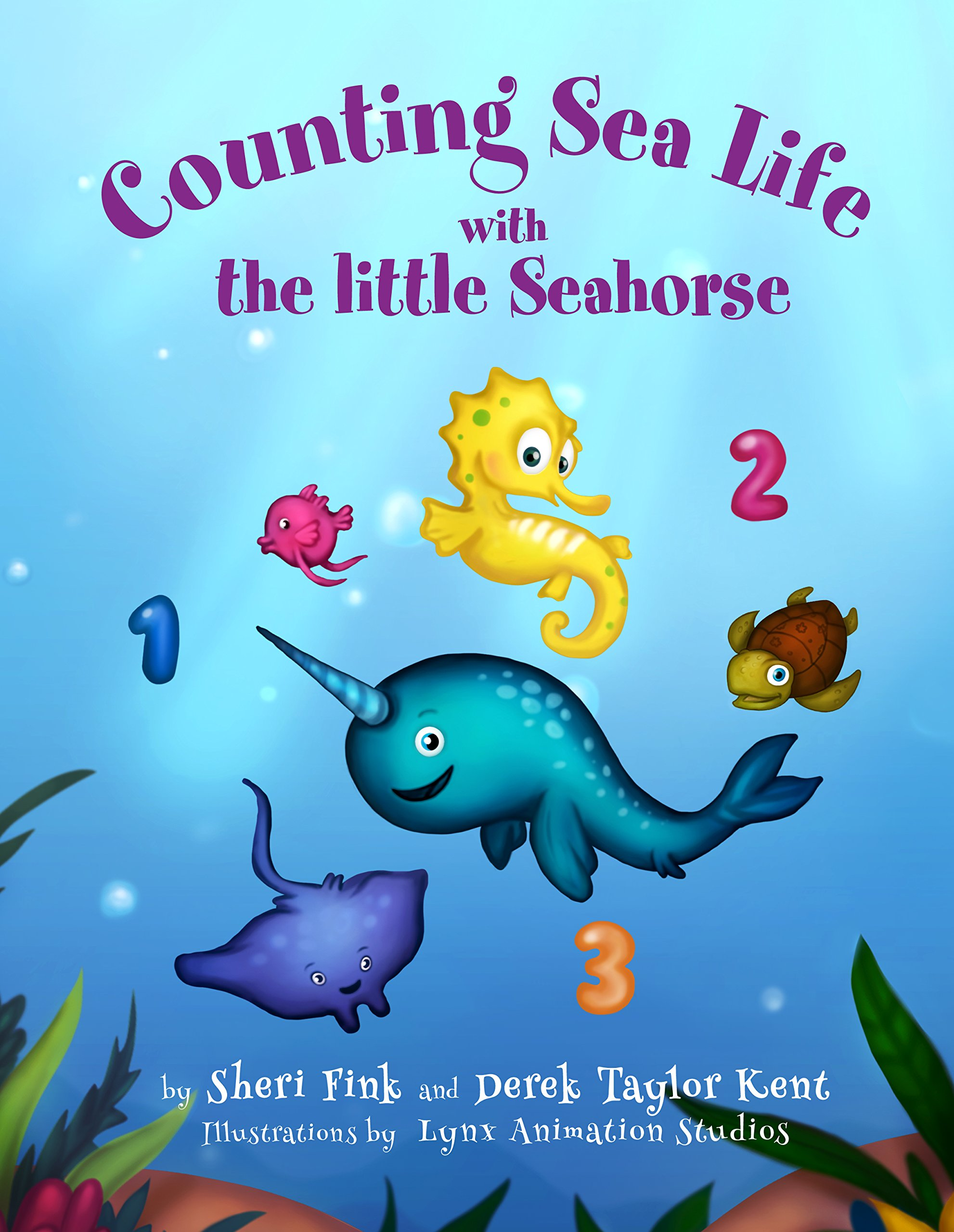 Counting Sea Life Witht he Little Seahorse cover image