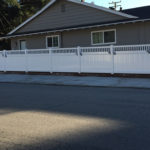 Semi Privacy Vinyl Fences