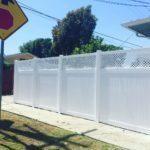 Lattice Top Vinyl Fence